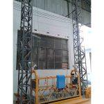 10 m-es rugós alváz felfüggesztett platform zlp1000 egyfázisú 2 * 2.2kw