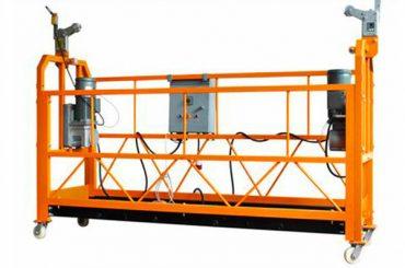 ce tanúsított alumínium felfüggesztett munkafelület zlp1000 motor teljesítmény 2.2kw