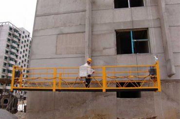 2,5 m * 3 szakasz átmenetileg telepített hozzáférési berendezés zlp800 1,8 kw emelővel