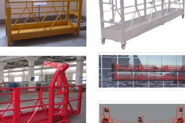 800 kg festett / horganyzott / alumíniumötvözetes felfüggesztett hozzáférési berendezés zlp800
