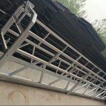 zlp630 / 800 ll alakú alumínium ötvözet, acélszerkezetű felfüggesztett munkafelület emelés az épületablakokon