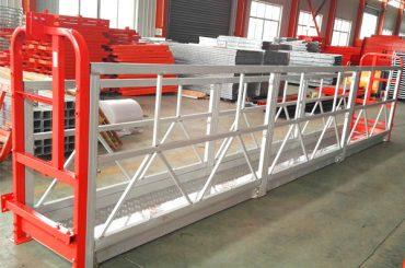 alumíniumötvözetből készült felfüggesztett állványrendszer 1000 kg 2,2 kw az ablak tisztításához