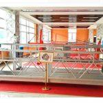 zlp630 alumínium felfüggesztett emelvény (ce iso gost) / magas emelkedésű ablak tisztító berendezés / ideiglenes gondola / bölcső / hinta színpad meleg