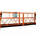 2,5mx 3 szekció 1000kg felfüggesztett hozzáférési platform emelési sebesség 8-10 m / perc