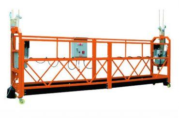 2,5M x 3 rész 1000kg felfüggesztett emelőkosár emelési sebesség 8-10 m / perc