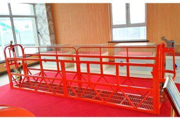 Acél felfüggesztett hozzáférési platformok 7.5m 1.8kw 800kg Building Maintenance