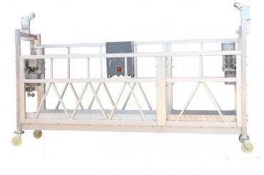 acél festett / horganyzott / alumínium zlp630 felfüggesztett munkafelület az épület homlokzat festéshez
