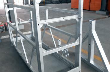 magas biztonsági kötél felfüggesztett emelőkosarak beszerelési platform zlp630 zlp800 zlp1000