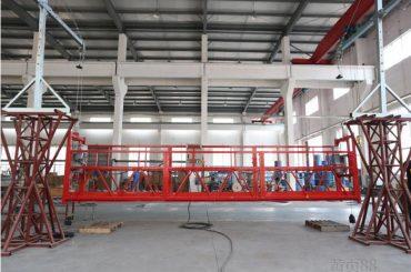 10 méteres alumíniumötvözet felfüggesztett munkaállvány emelővel ltd8.0